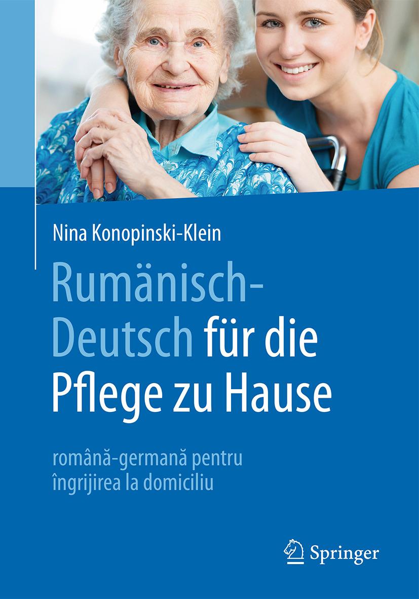 Konopinski-Klein, Nina - Rumänisch-Deutsch für die Pflege zu Hause, ebook