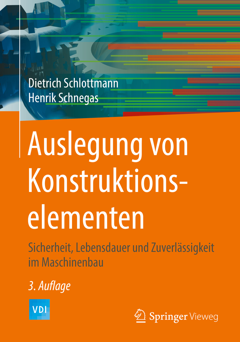 Schlottmann, Dietrich - Auslegung von Konstruktionselementen, ebook