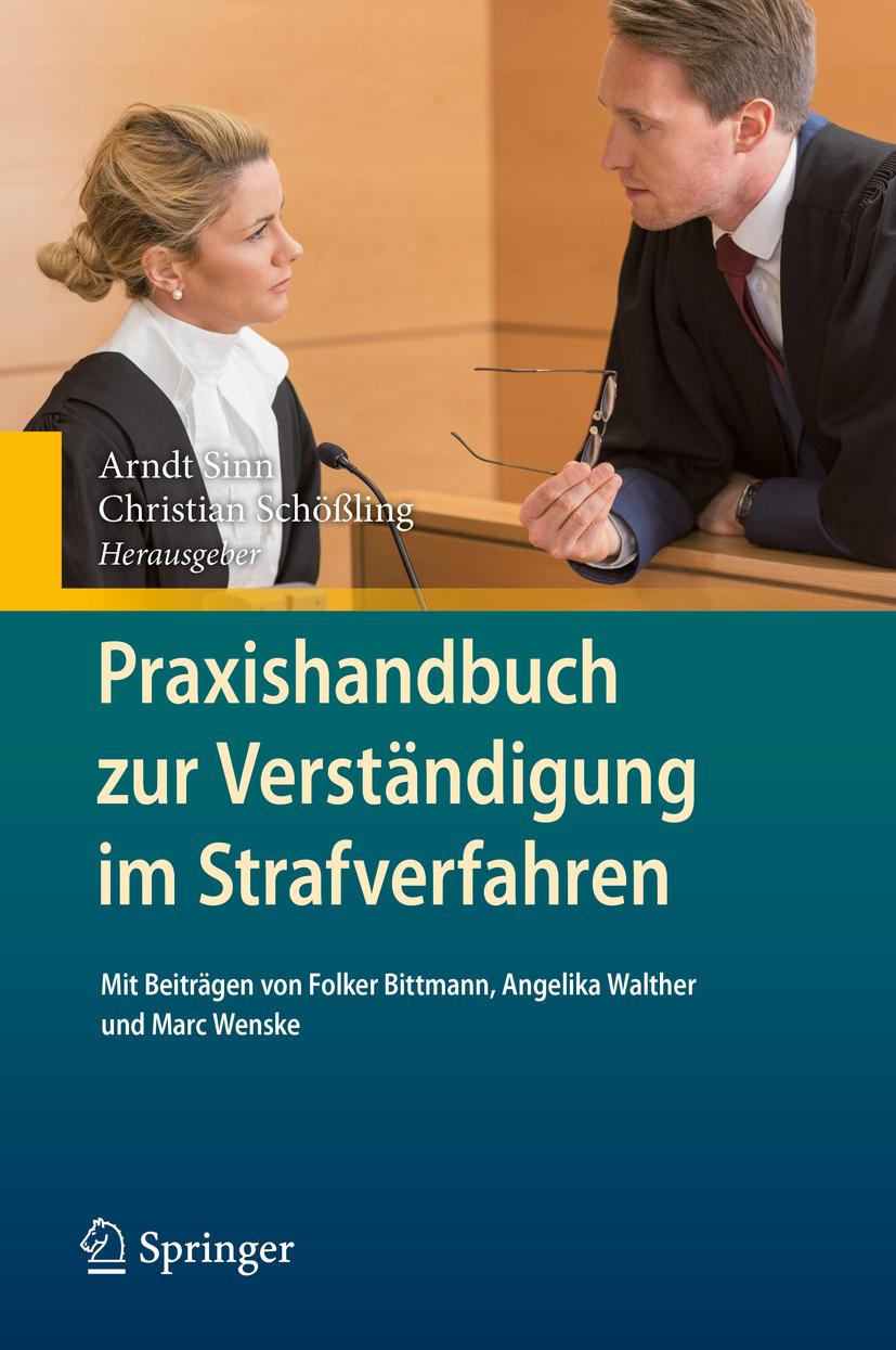 Schößling, Christian - Praxishandbuch zur Verständigung im Strafverfahren, ebook