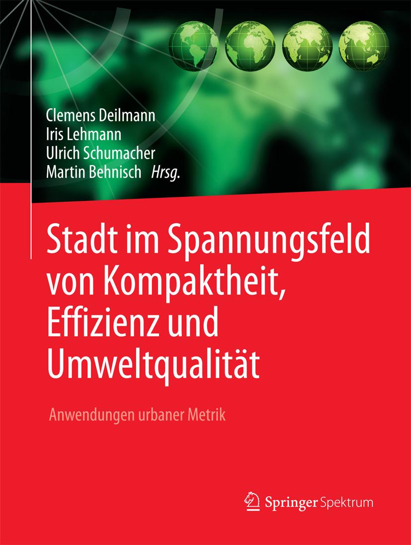 Behnisch, Martin - Stadt im Spannungsfeld von Kompaktheit, Effizienz und Umweltqualität, ebook