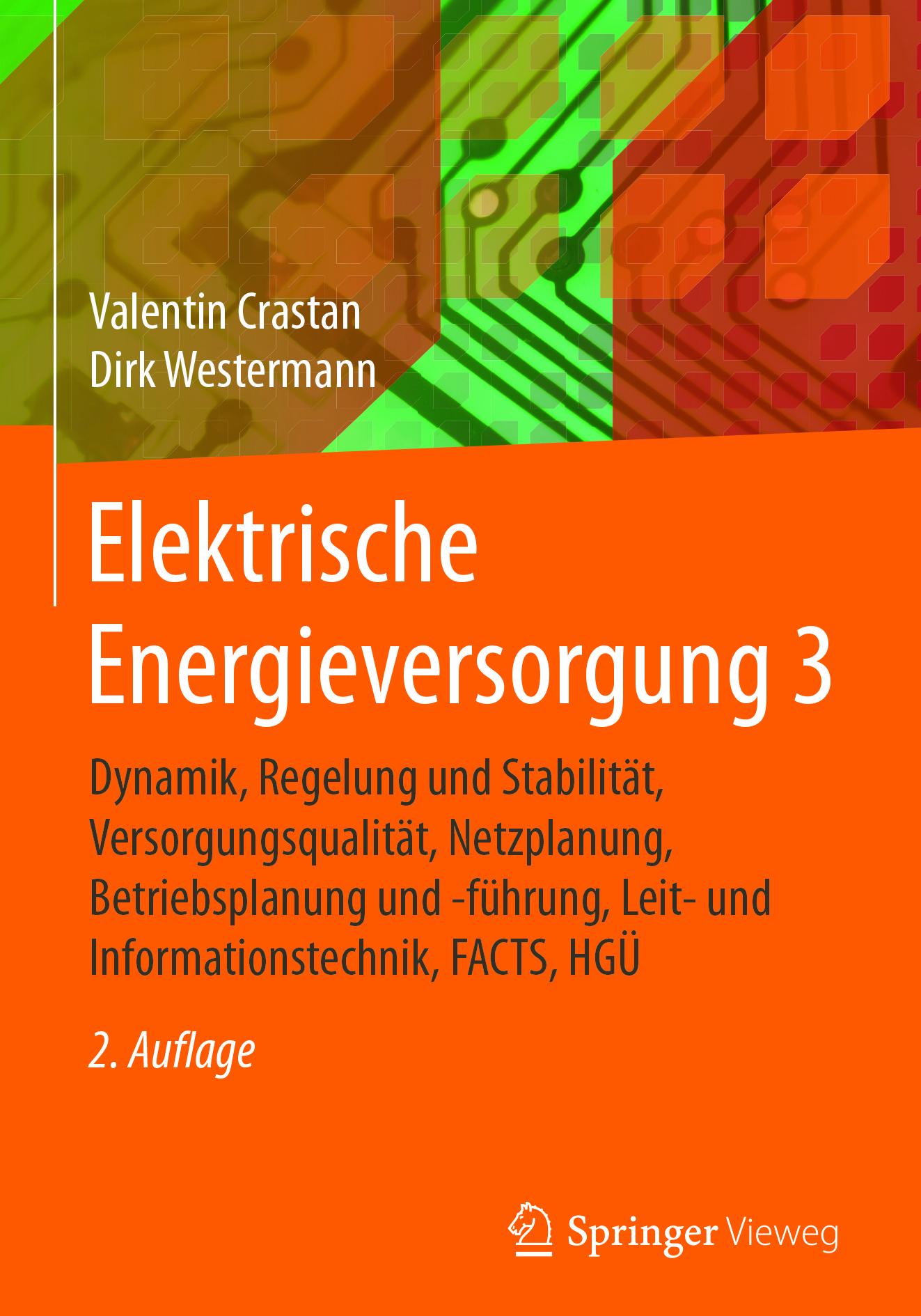 Crastan, Valentin - Elektrische Energieversorgung 3, ebook