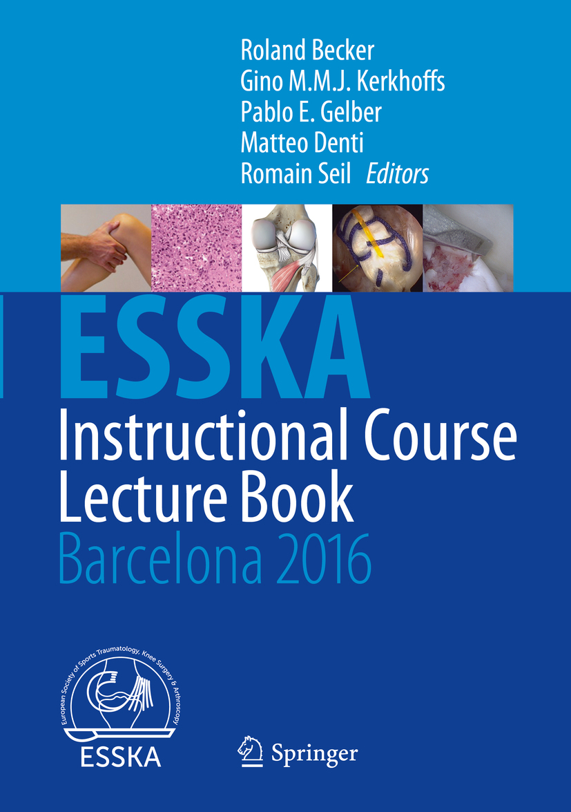 Becker, Roland - ESSKA Instructional Course Lecture Book, e-bok