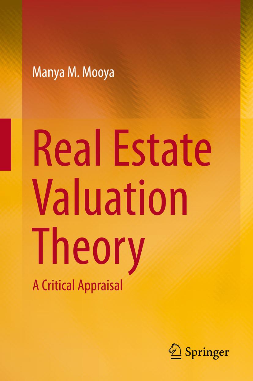 Mooya, Manya M. - Real Estate Valuation Theory, ebook