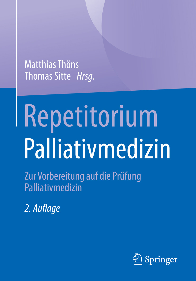 Sitte, Thomas - Repetitorium Palliativmedizin, ebook
