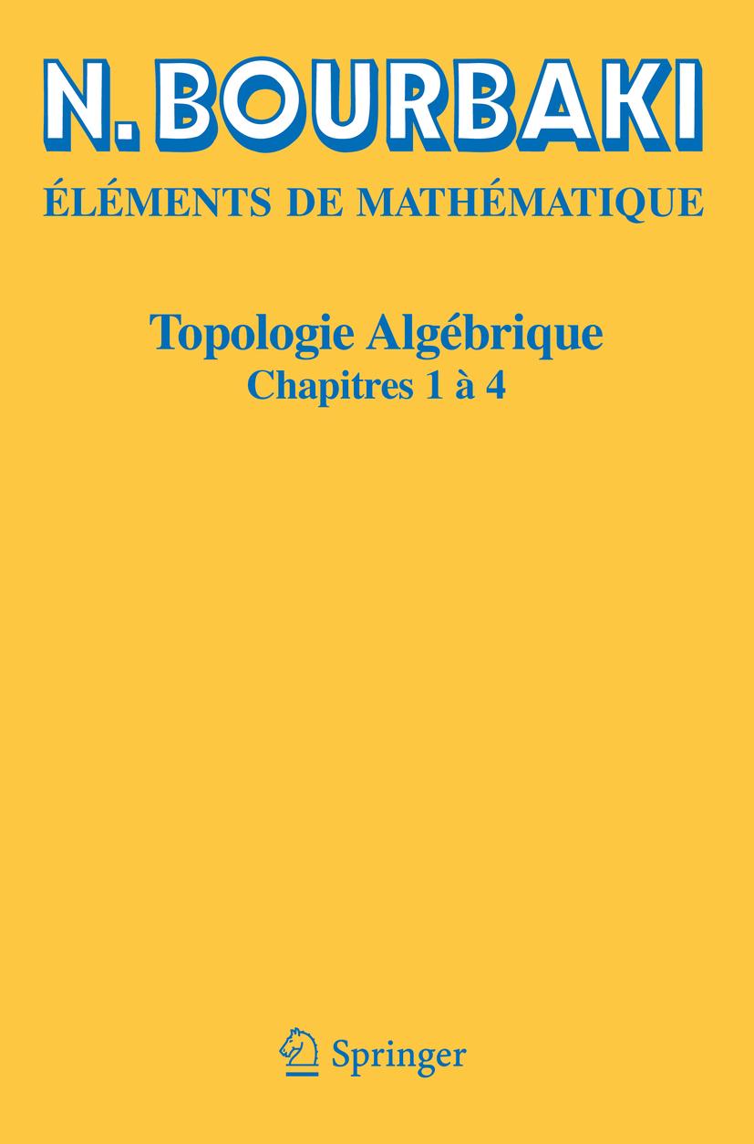 Bourbaki, N. - Topologie algébrique, ebook
