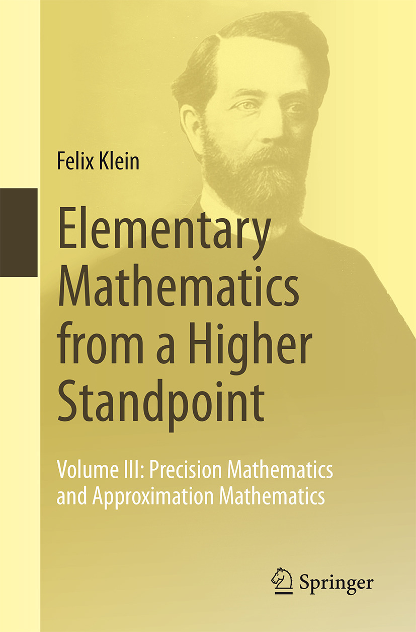Klein, Felix - Elementary Mathematics from a Higher Standpoint, ebook