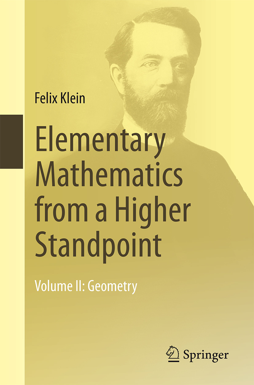 Klein, Felix - Elementary Mathematics from a Higher Standpoint, ebook