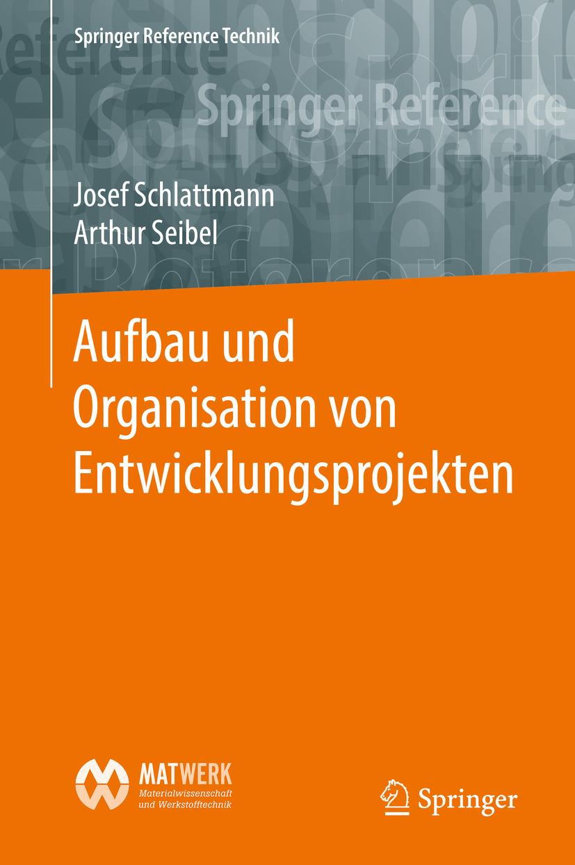 Schlattmann, Josef - Aufbau und Organisation von Entwicklungsprojekten, ebook