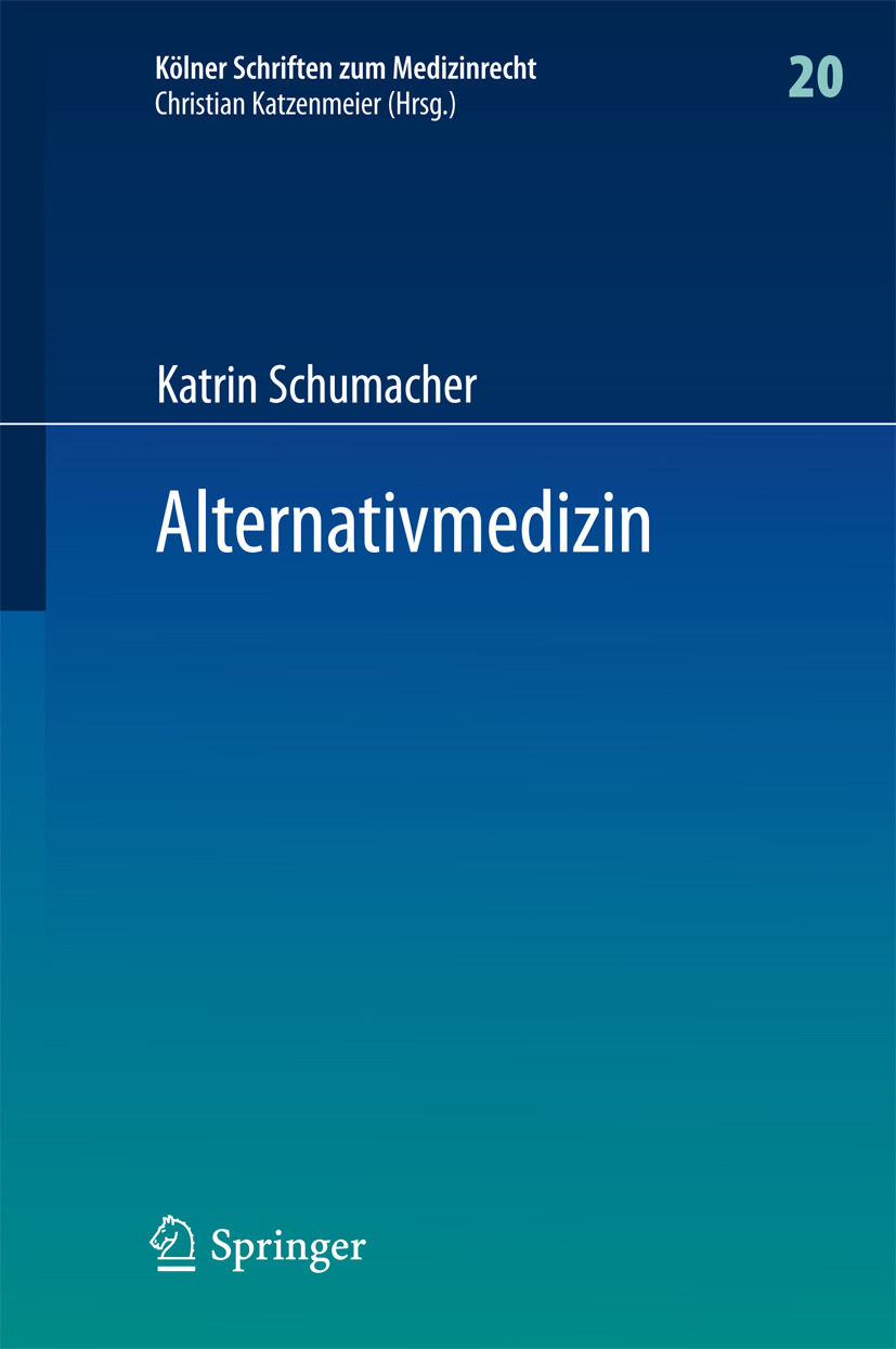 Schumacher, Katrin - Alternativmedizin, ebook