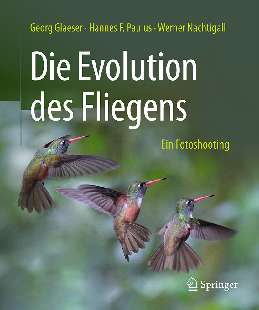 Glaeser, Georg - Die Evolution des Fliegens – Ein Fotoshooting, ebook