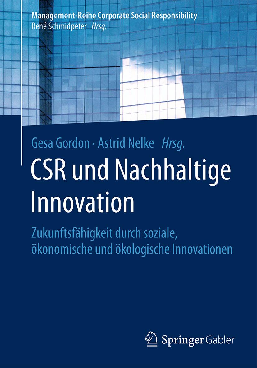 Gordon, Gesa - CSR und Nachhaltige Innovation, ebook