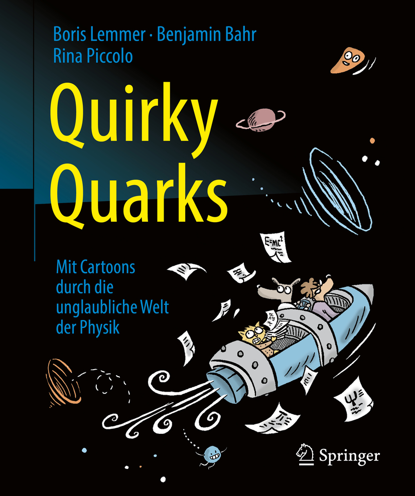 Bahr, Benjamin - Quirky Quarks, ebook
