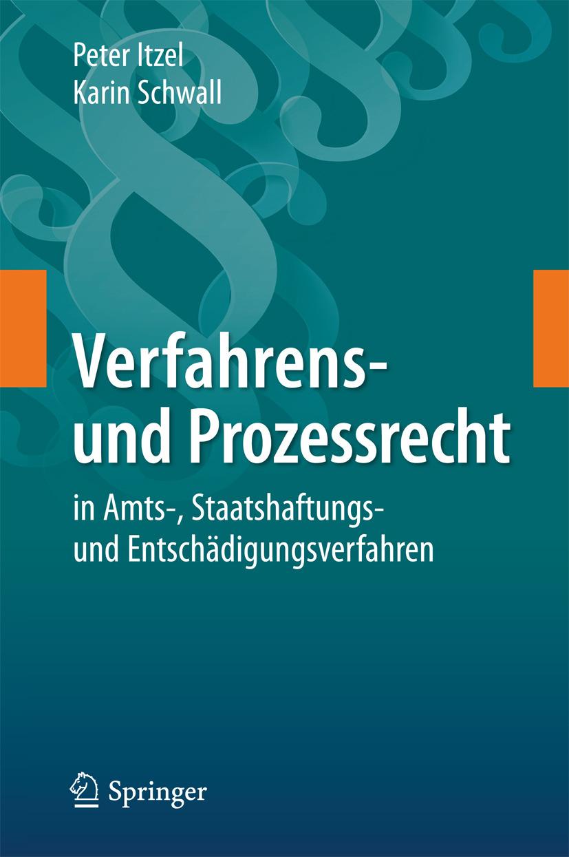 Itzel, Peter - Verfahrens- und Prozessrecht in Amts-, Staatshaftungs- und Entschädigungsverfahren, ebook