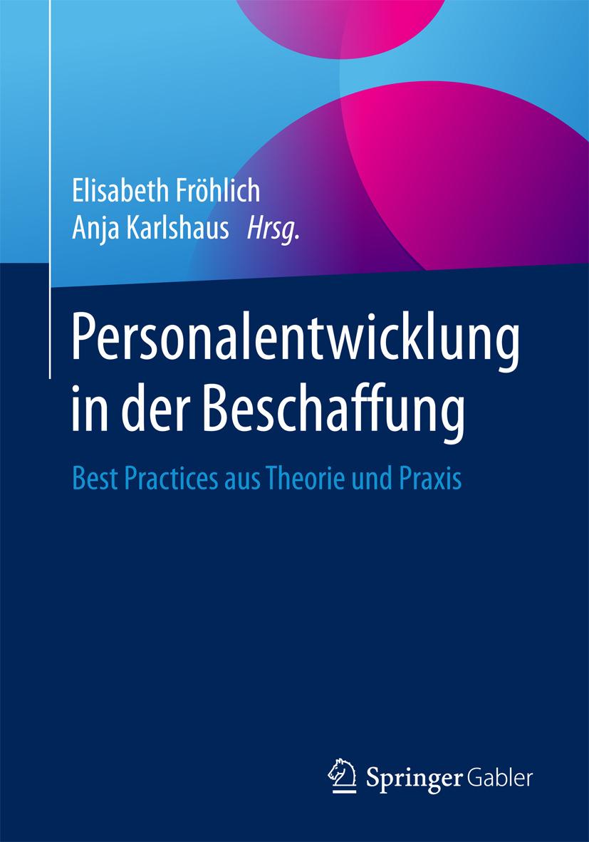 Fröhlich, Elisabeth - Personalentwicklung in der Beschaffung, ebook