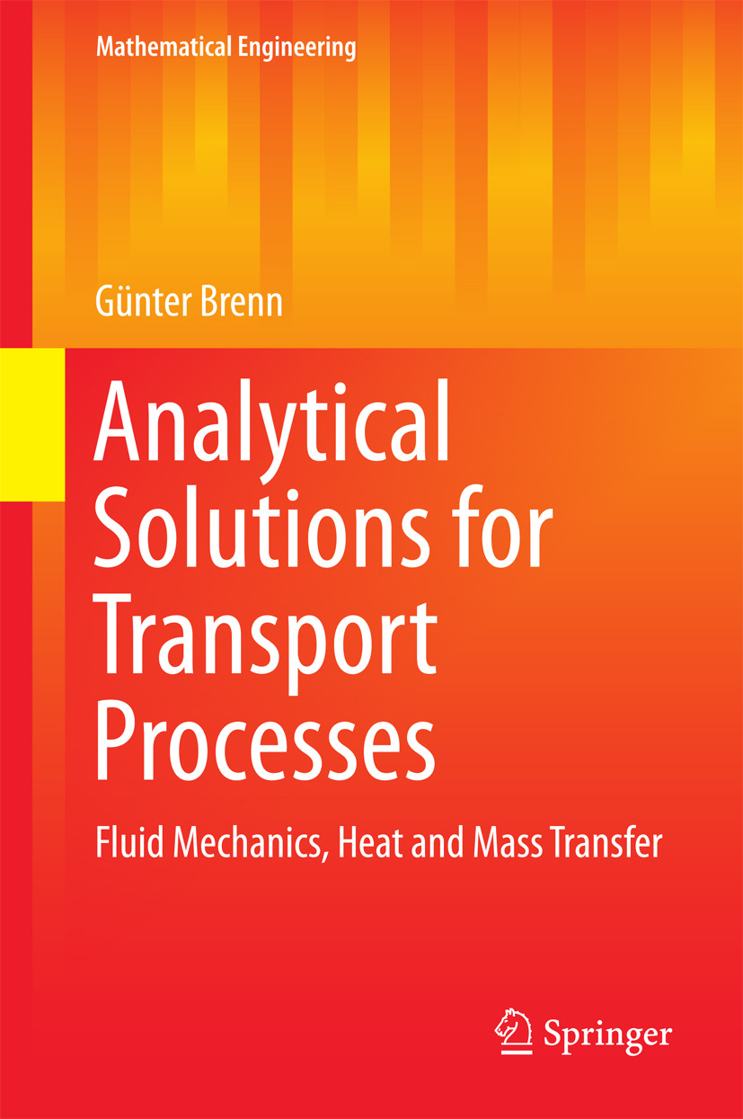 Brenn, Günter - Analytical Solutions for Transport Processes, ebook