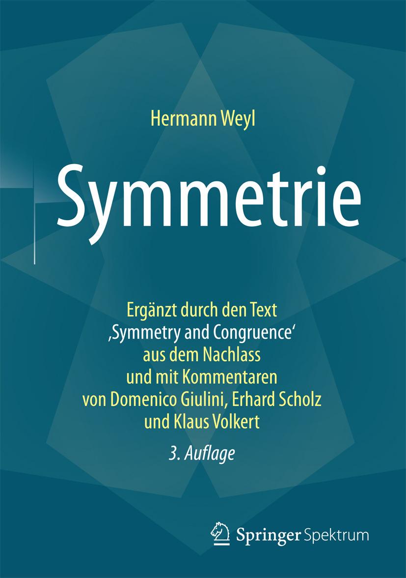 Weyl, Hermann - Symmetrie, e-kirja
