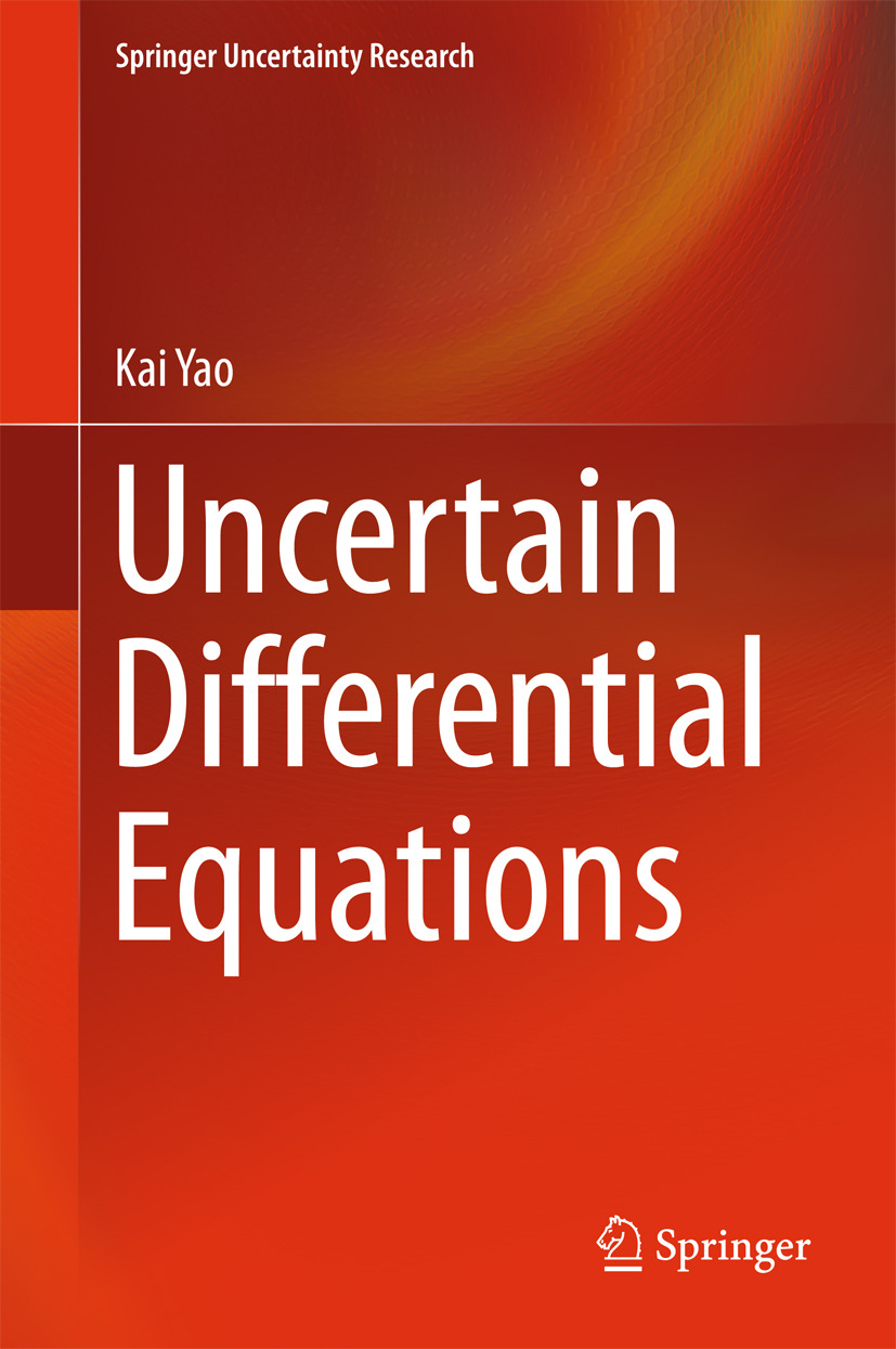 Yao, Kai - Uncertain Differential Equations, ebook