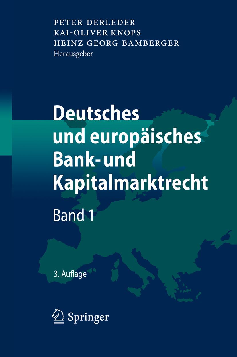 Bamberger, Heinz Georg - Deutsches und europäisches Bank- und Kapitalmarktrecht, ebook