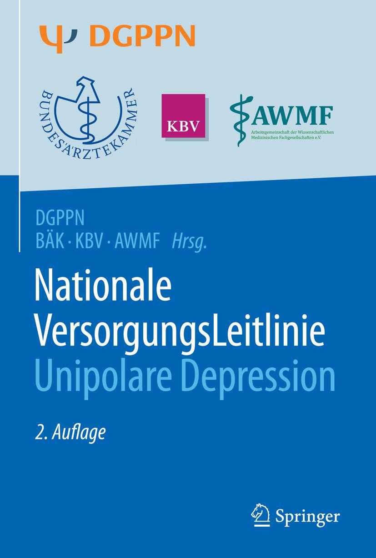 Härter, Martin - S3-Leitlinie/Nationale VersorgungsLeitlinie Unipolare Depression, ebook