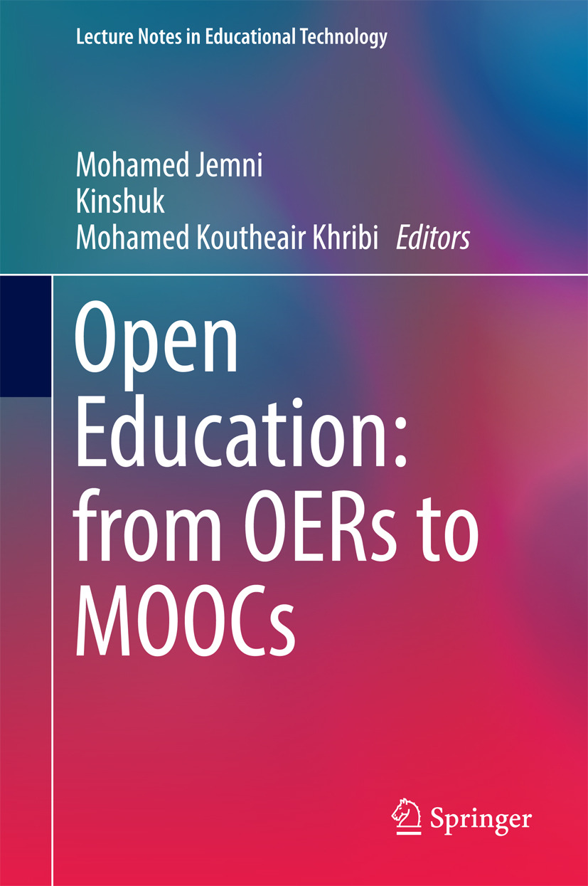 Jemni, Mohamed - Open Education: from OERs to MOOCs, ebook