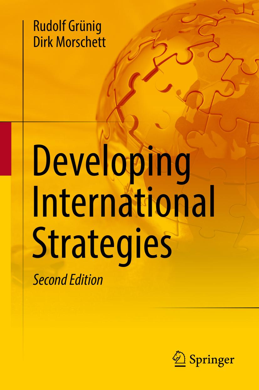 Grünig, Rudolf - Developing International Strategies, ebook
