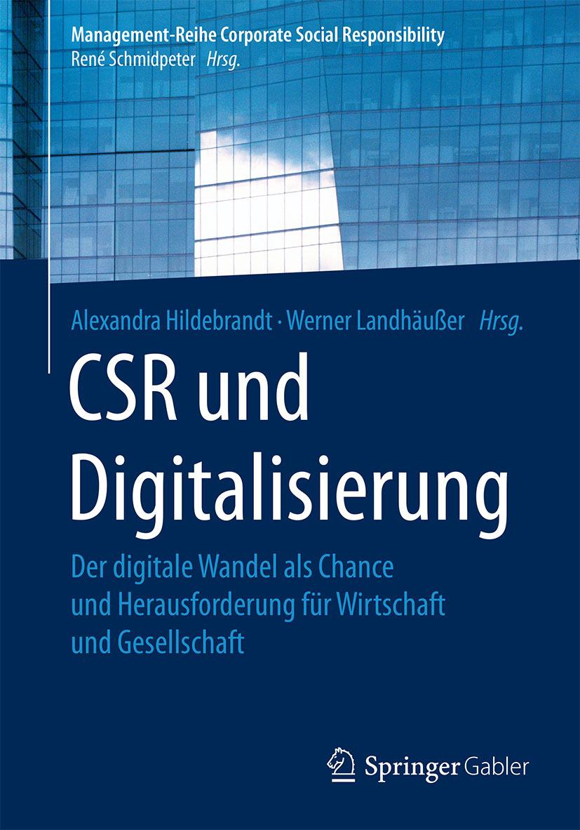 Hildebrandt, Alexandra - CSR und Digitalisierung, ebook
