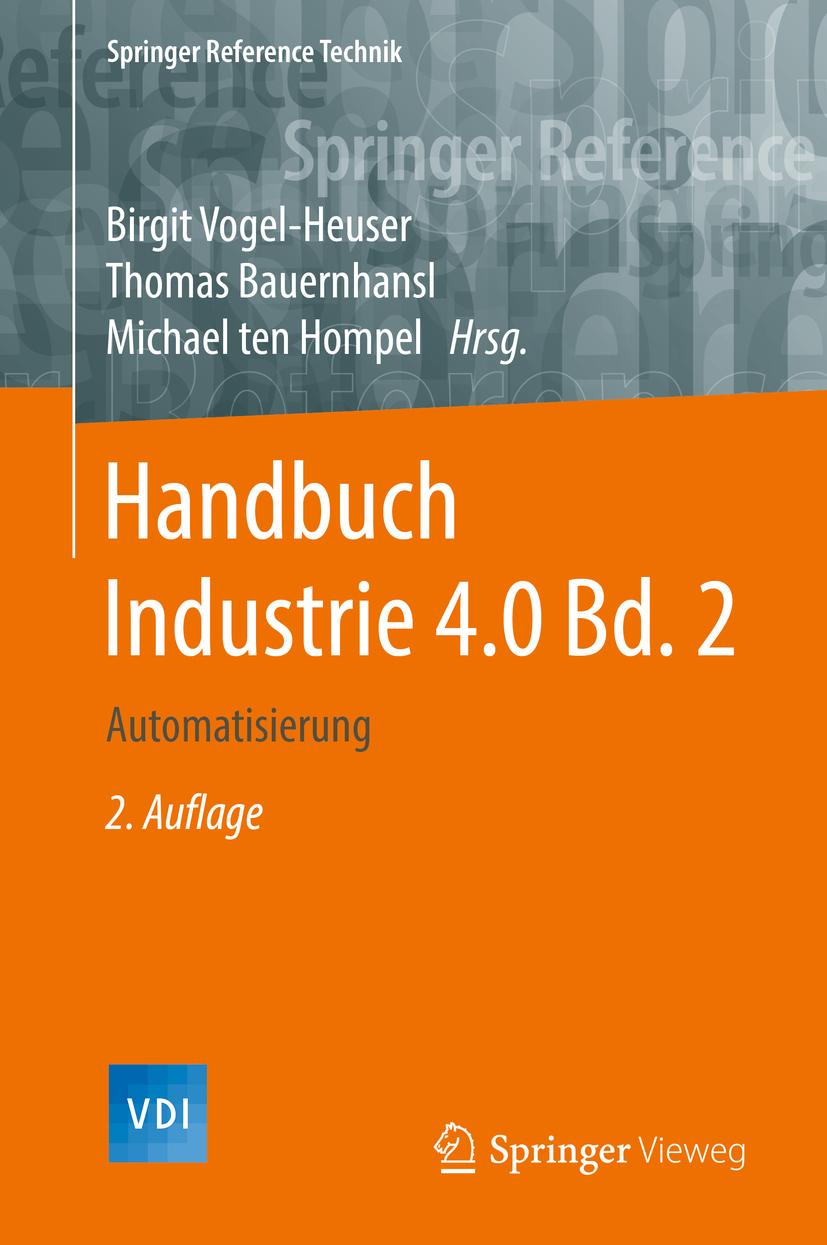 Bauernhansl, Thomas - Handbuch Industrie 4.0  Bd.2, ebook