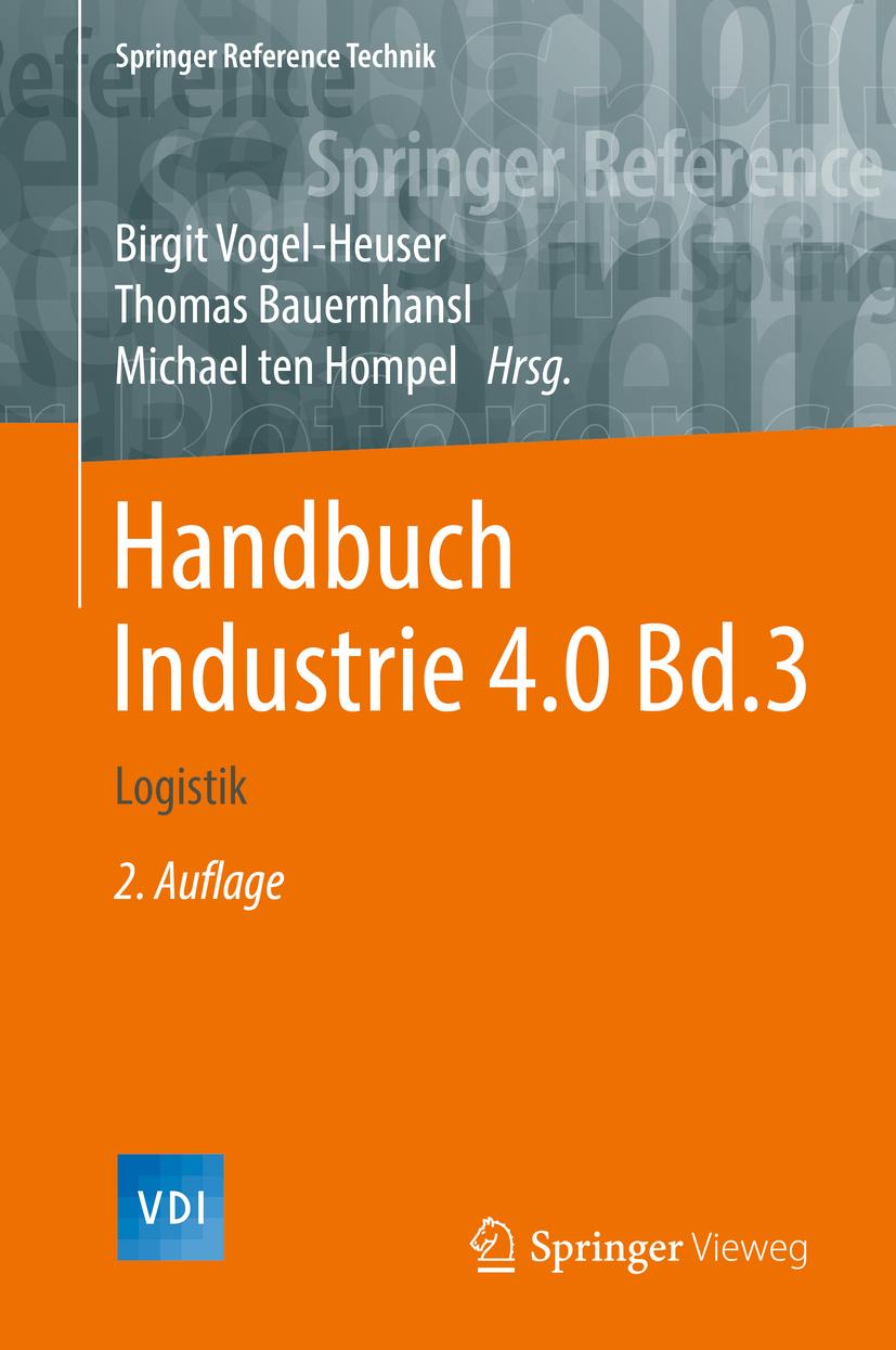 Bauernhansl, Thomas - Handbuch Industrie 4.0  Bd.3, ebook