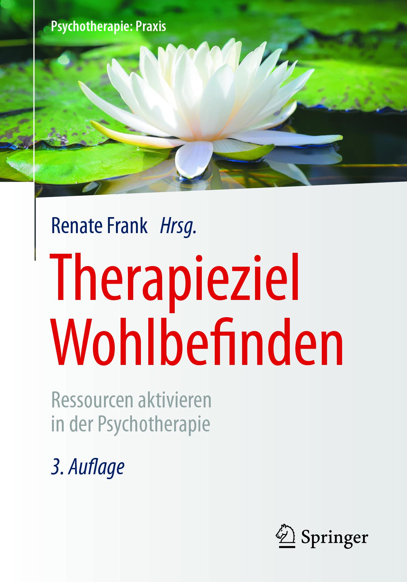 Frank, Renate - Therapieziel Wohlbefinden, ebook