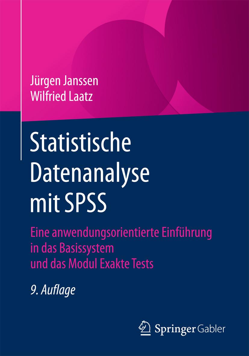 Janssen, Jürgen - Statistische Datenanalyse mit SPSS, ebook