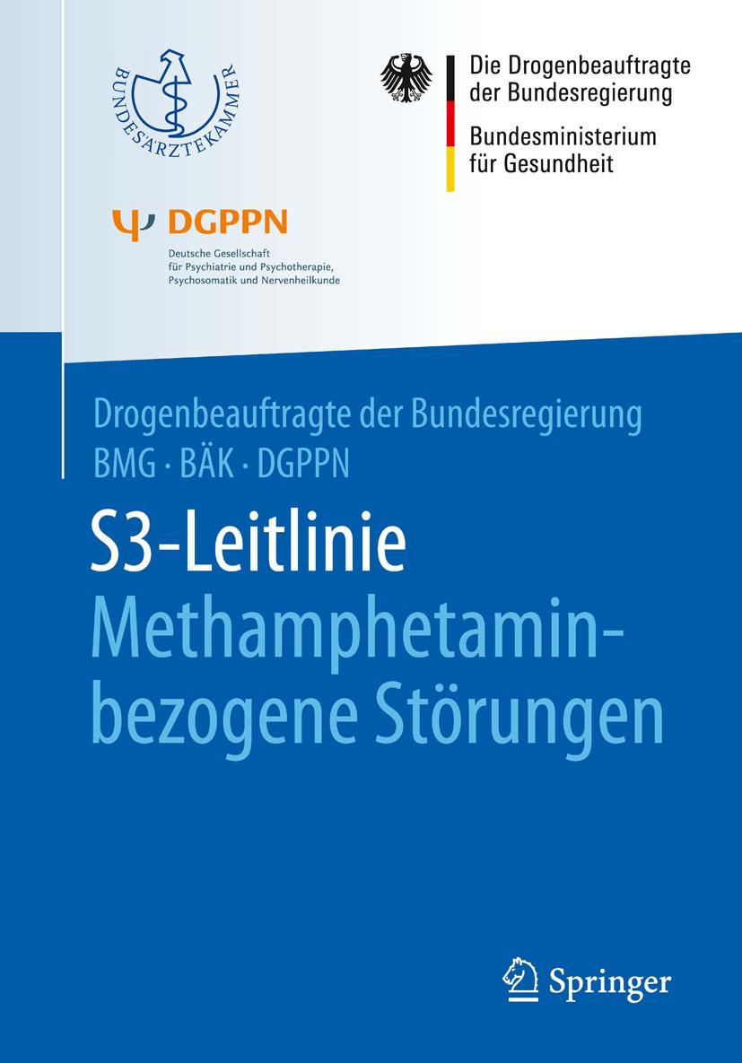 - S3-Leitlinie Methamphetamin-bezogene Störungen, ebook