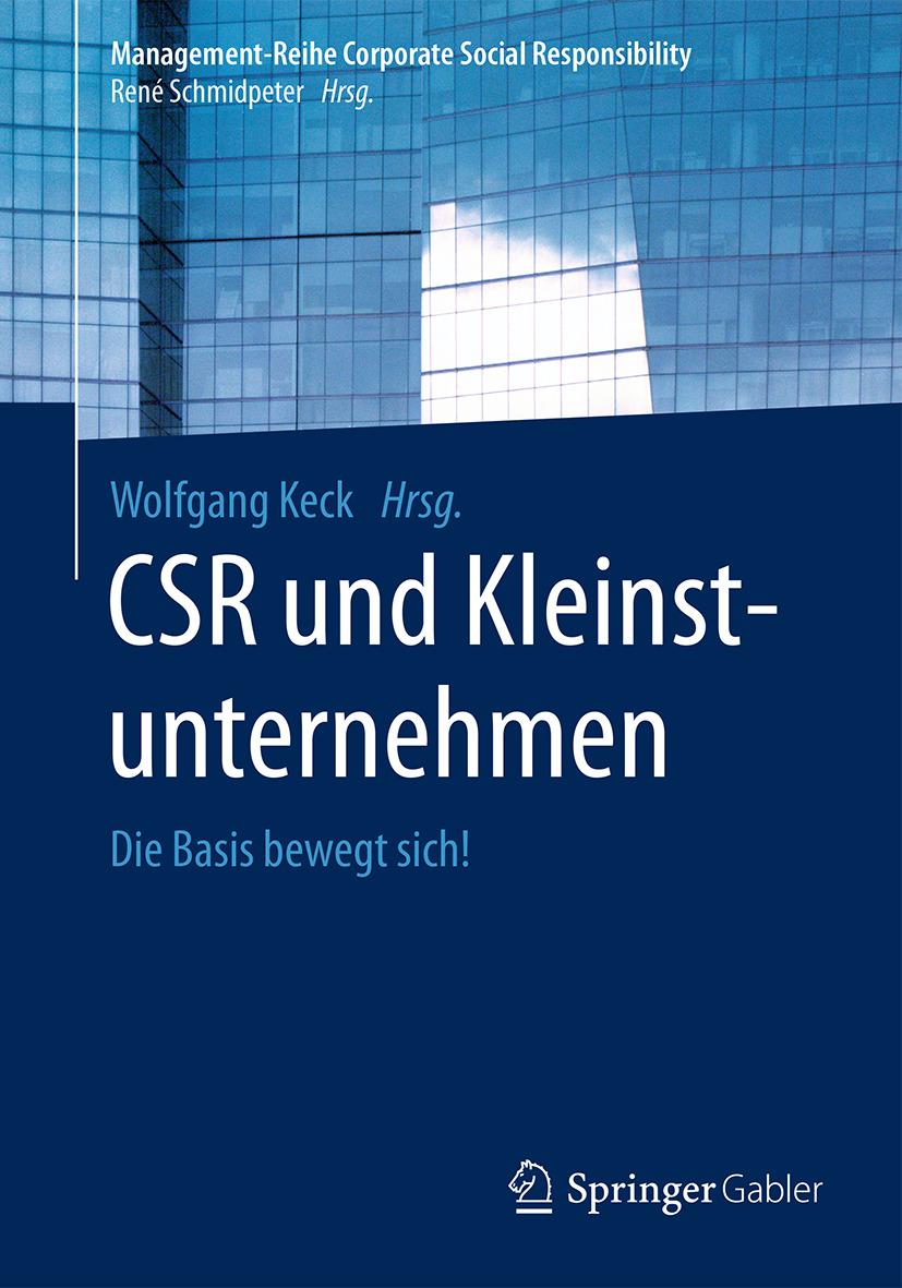 Keck, Wolfgang - CSR und Kleinstunternehmen, e-kirja