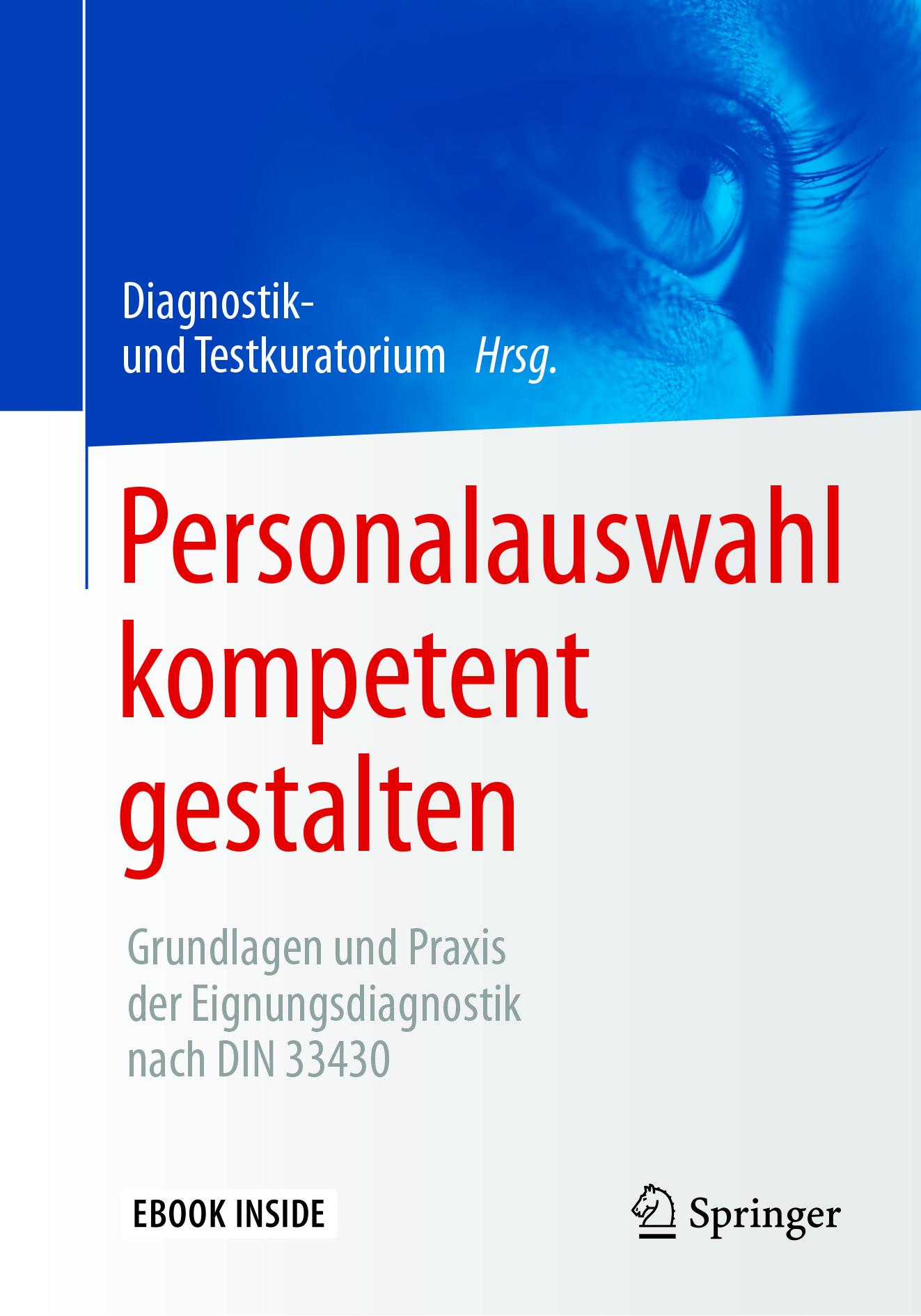Testkuratorium, Diagnostik- und - Personalauswahl kompetent gestalten, ebook