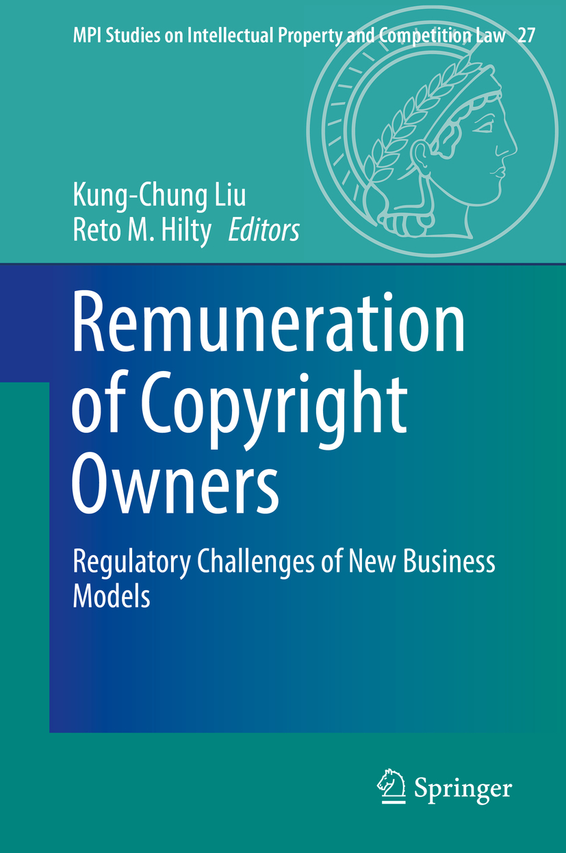 Hilty, Reto M. - Remuneration of Copyright Owners, ebook