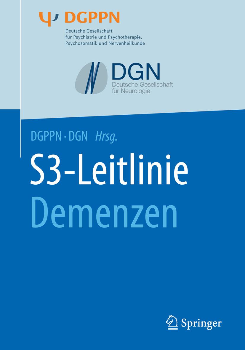 - S3-Leitlinie Demenzen, ebook