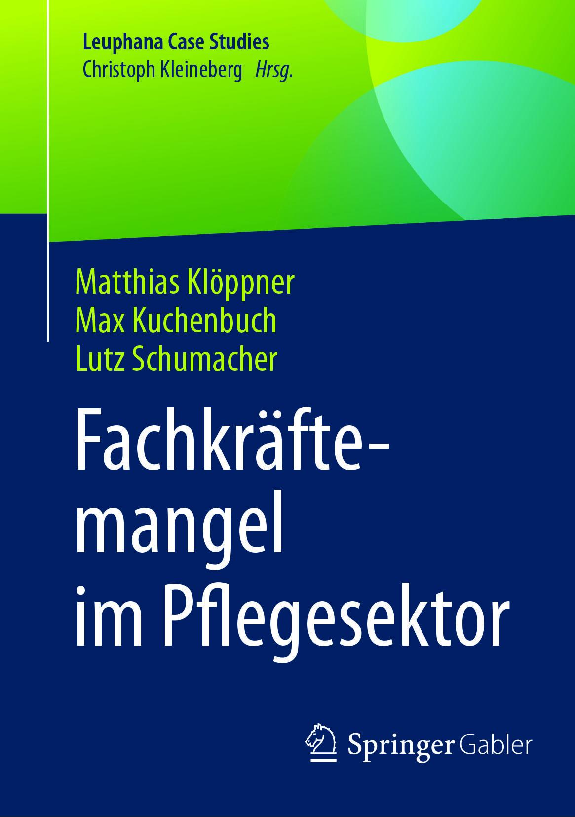Klöppner, Matthias - Fachkräftemangel im Pflegesektor, ebook