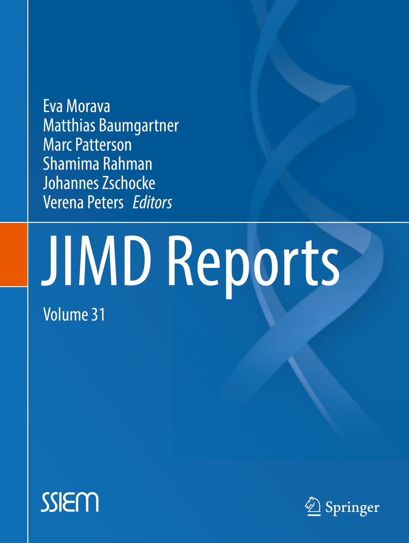 Baumgartner, Matthias - JIMD Reports, Volume 31, ebook