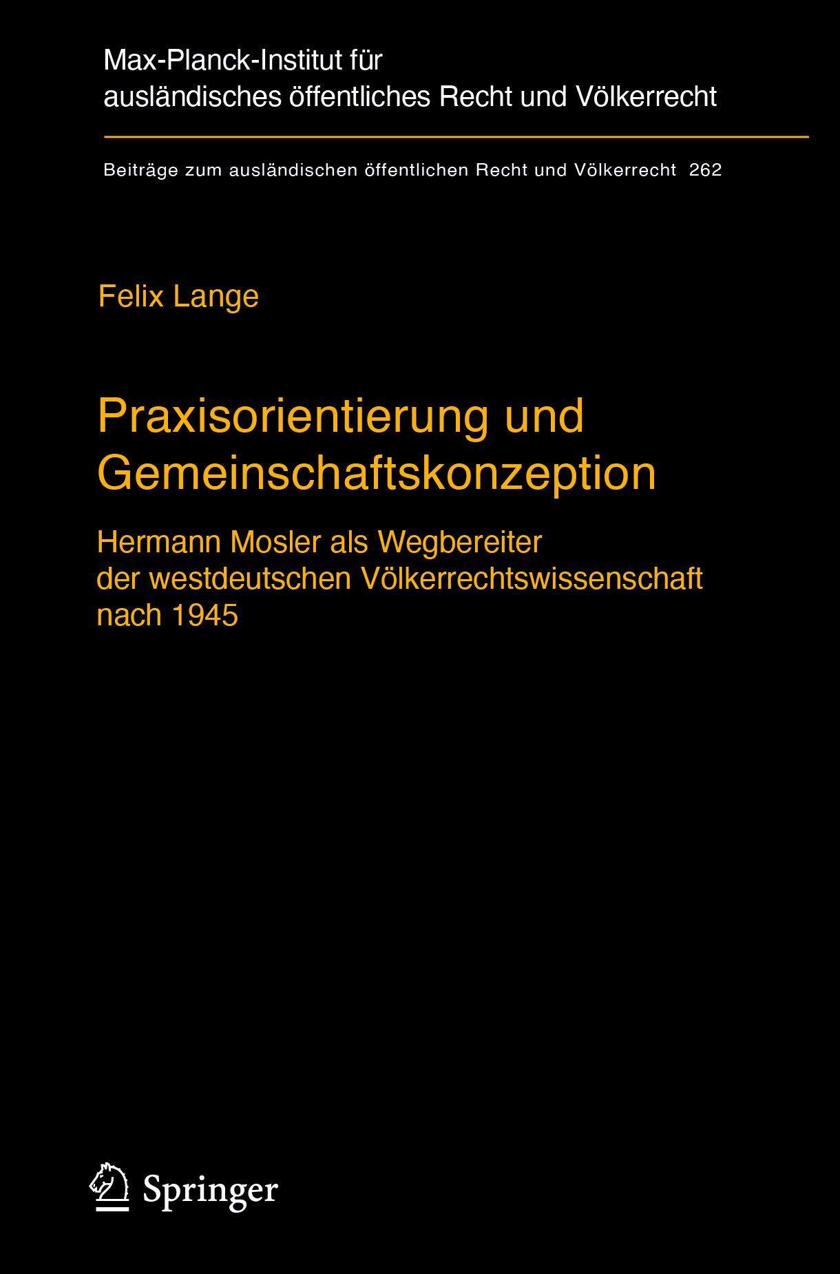 Lange, Felix - Praxisorientierung und Gemeinschaftskonzeption, ebook