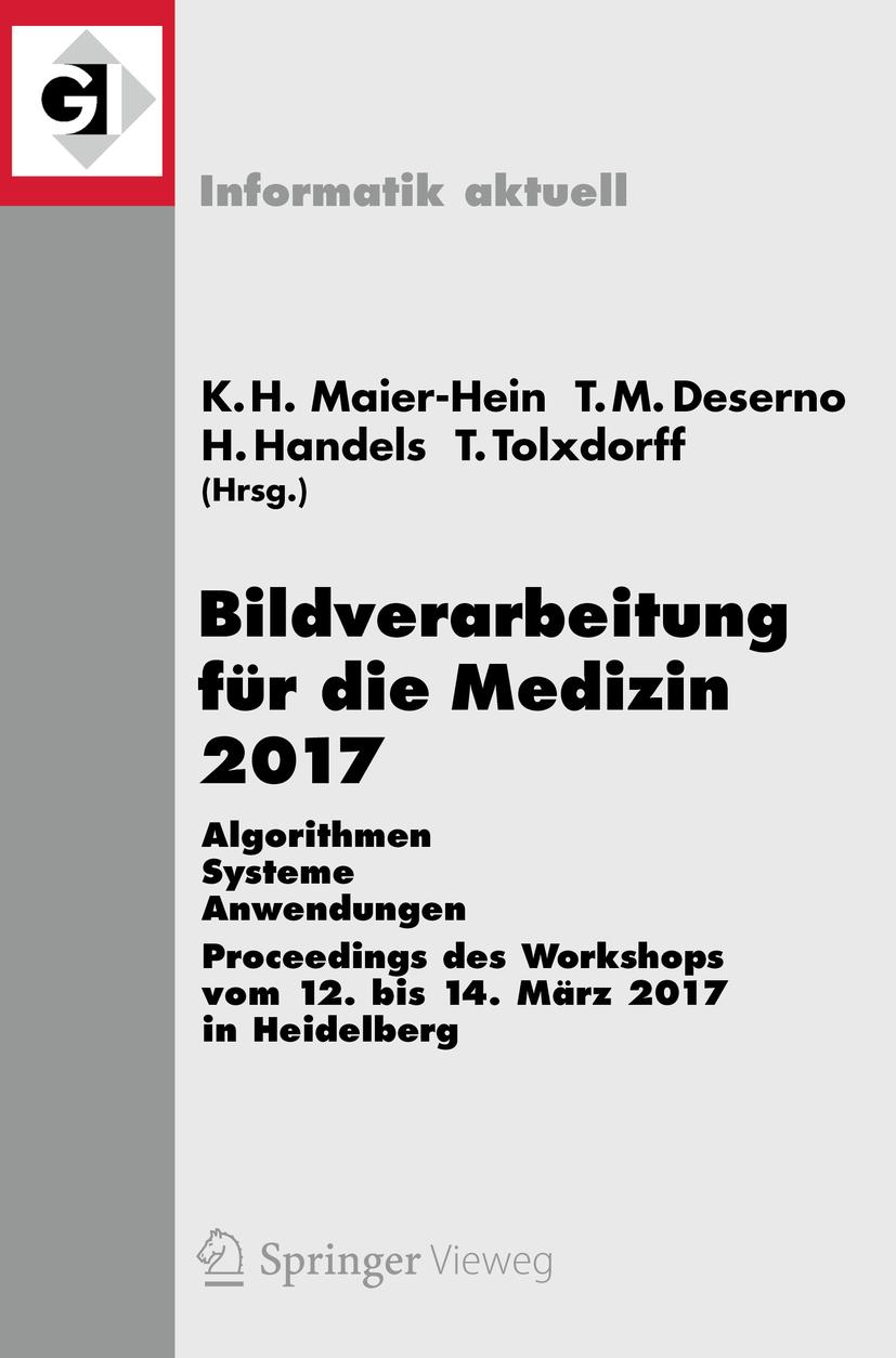Fritzsche, Klaus Hermann Maier-Hein, geb. - Bildverarbeitung für die Medizin 2017, ebook