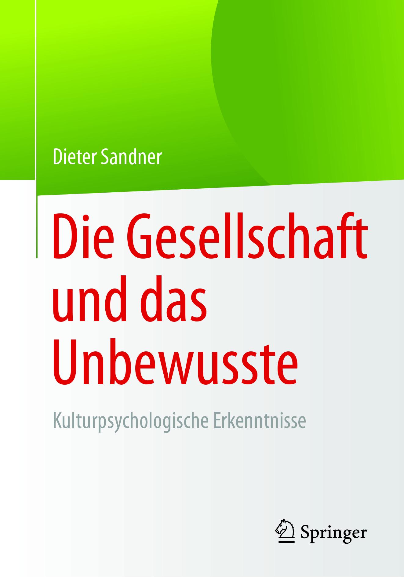 Sandner, Dieter - Die Gesellschaft und das Unbewusste, ebook