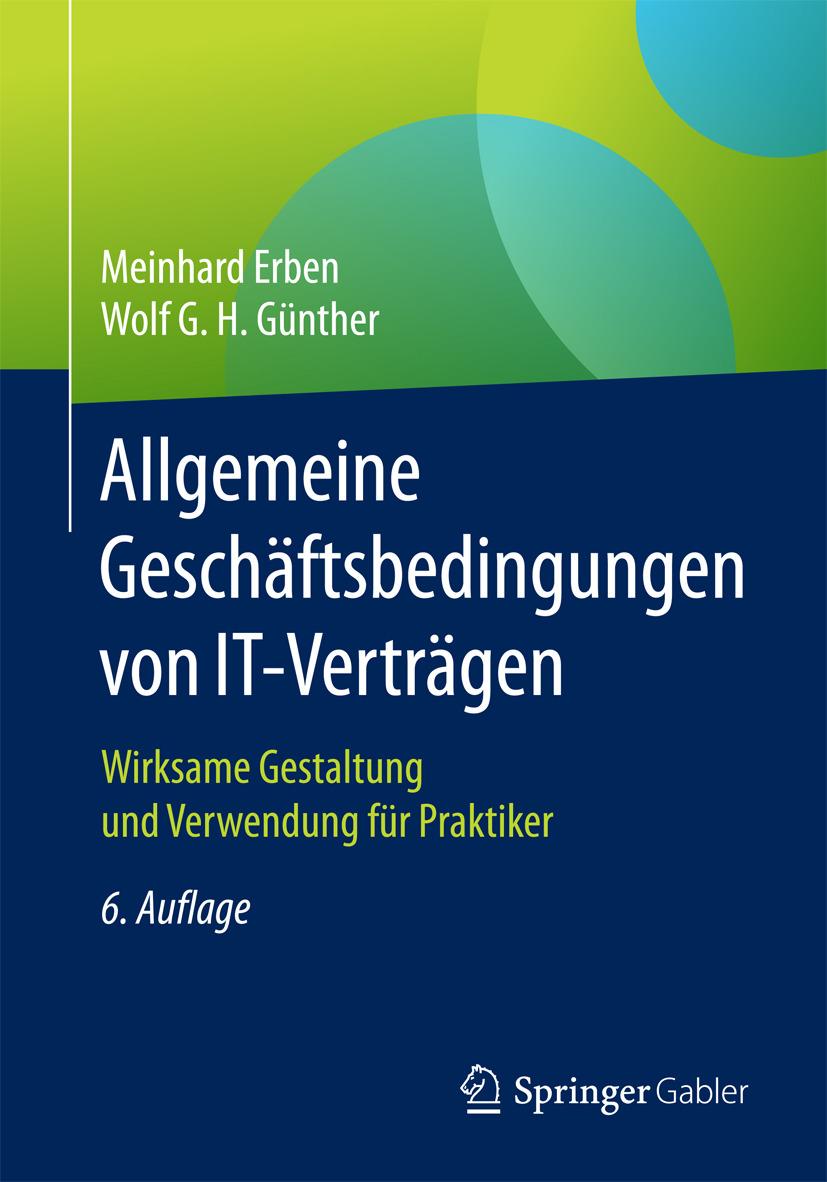 Erben, Meinhard - Allgemeine Geschäftsbedingungen von IT-Verträgen, ebook