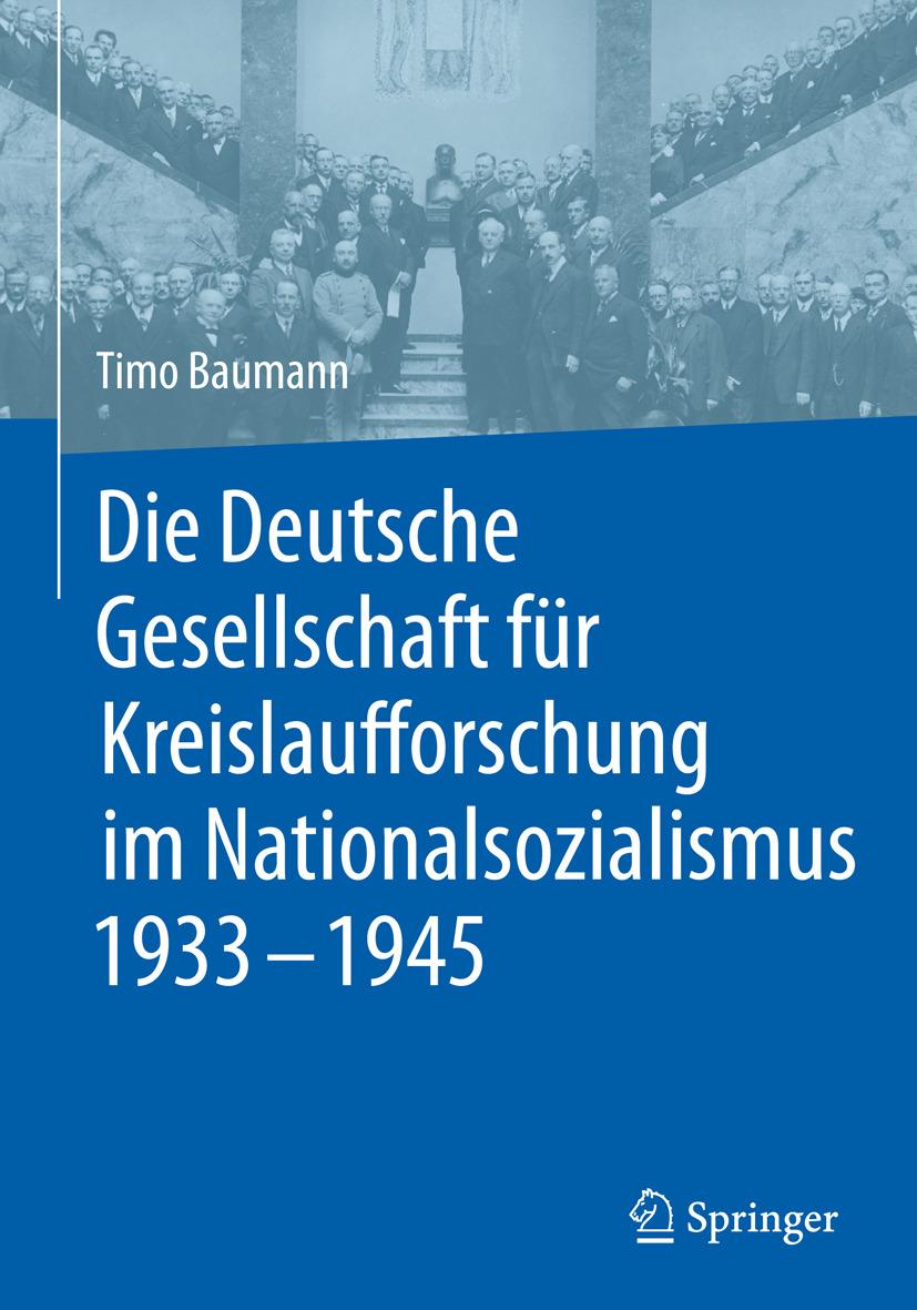Baumann, Timo - Die Deutsche Gesellschaft für Kreislaufforschung im Nationalsozialismus 1933 - 1945, ebook