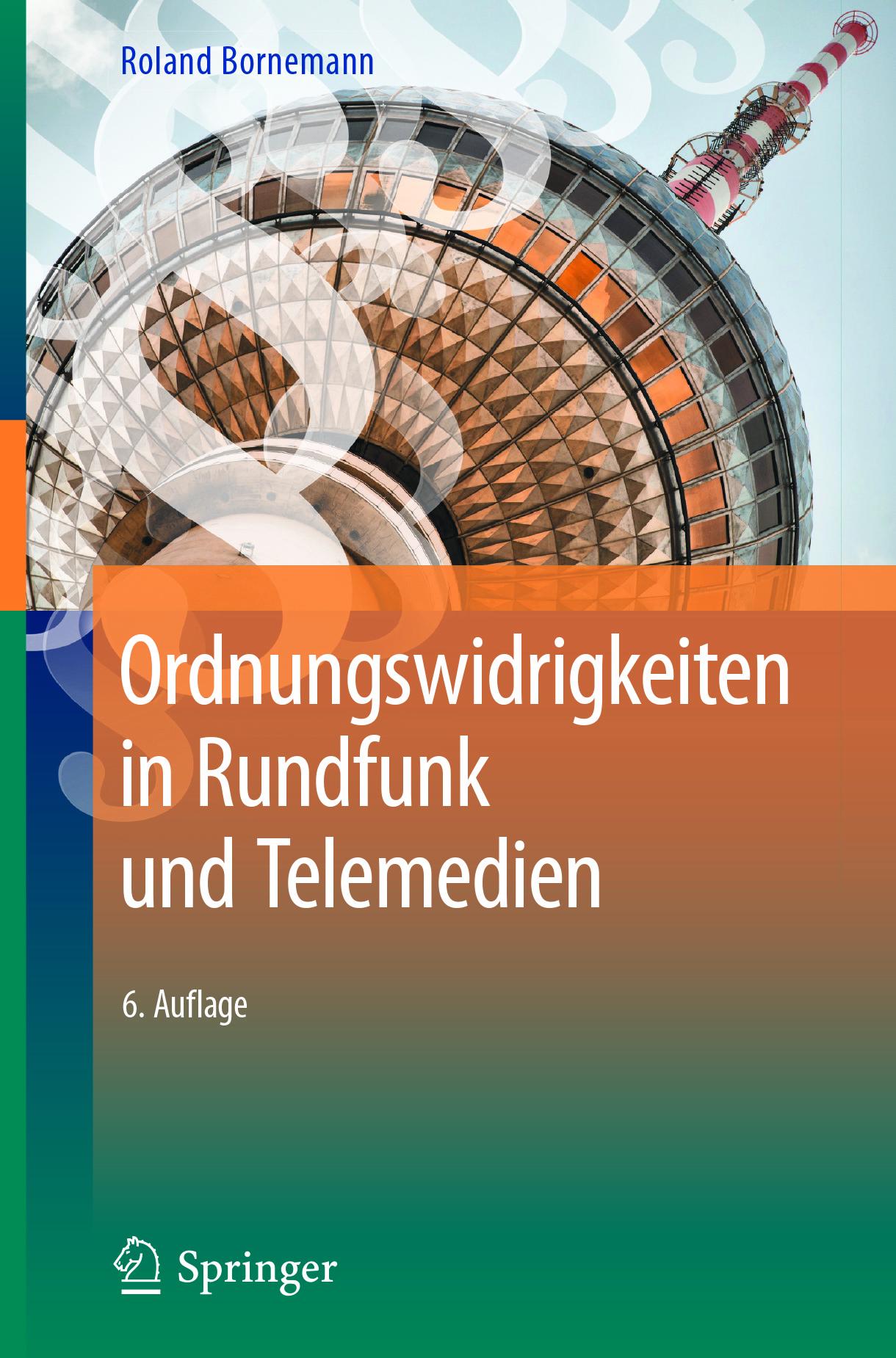 Bornemann, Roland - Ordnungswidrigkeiten in Rundfunk und Telemedien, ebook