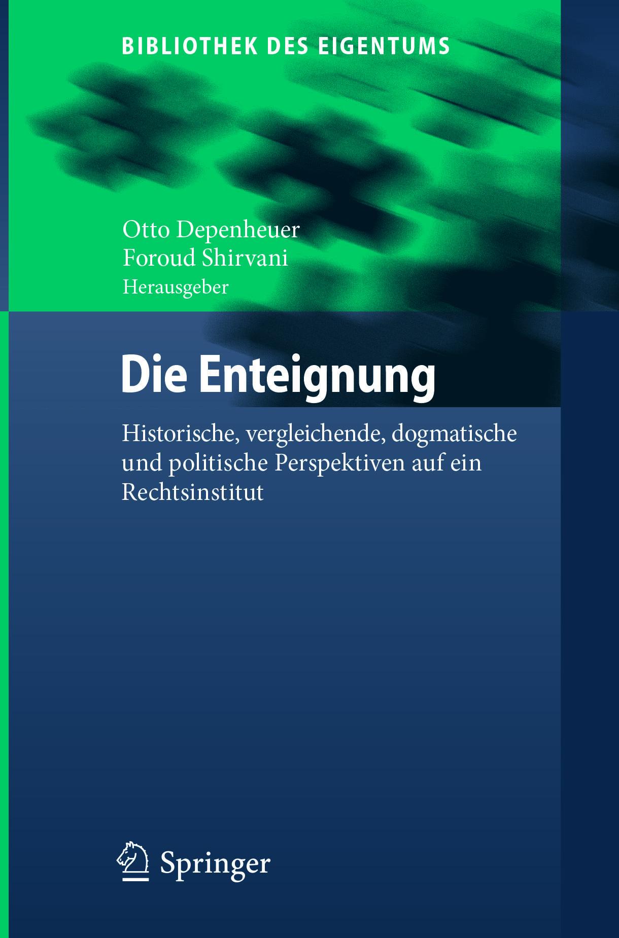 Depenheuer, Otto - Die Enteignung, ebook