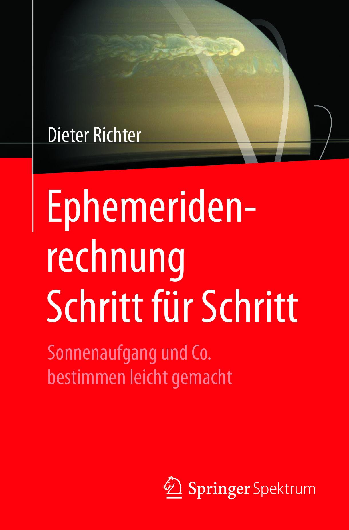 Richter, Dieter - Ephemeridenrechnung Schritt für Schritt, ebook