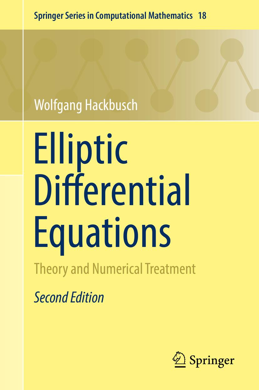 Hackbusch, Wolfgang - Elliptic Differential Equations, ebook