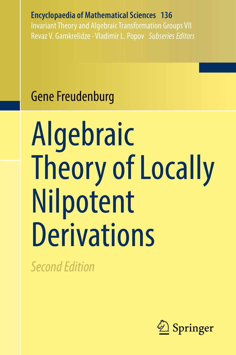Freudenburg, Gene - Algebraic Theory of Locally Nilpotent Derivations, ebook