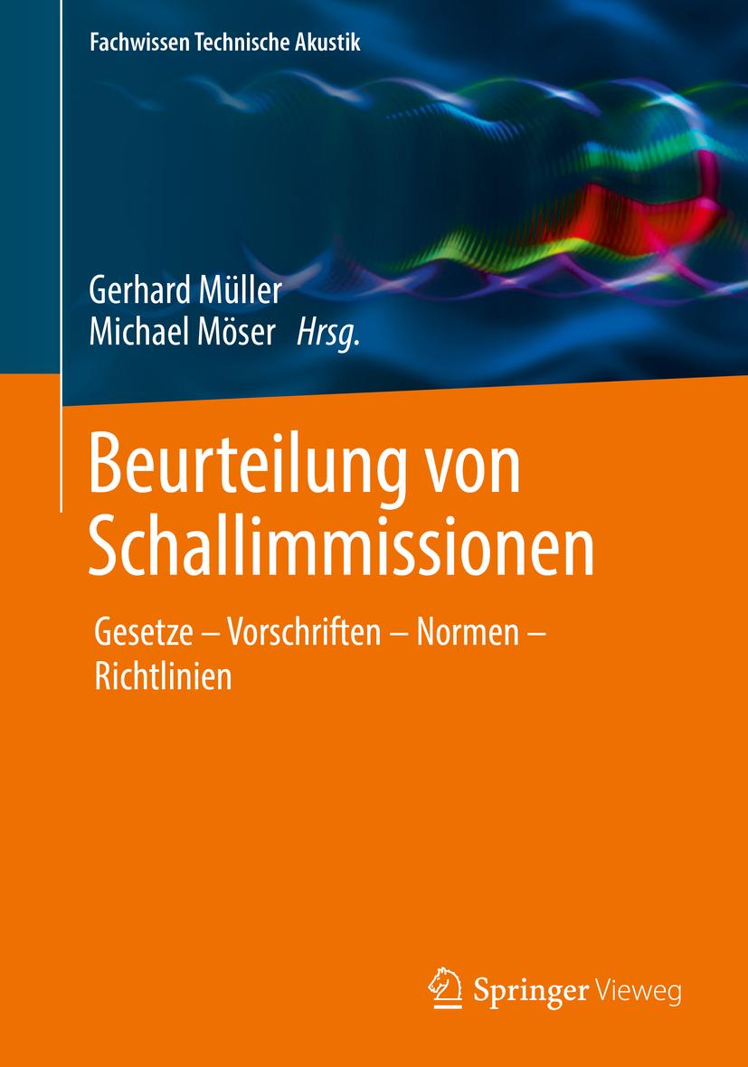 Möser, Michael - Beurteilung von Schallimmissionen, ebook