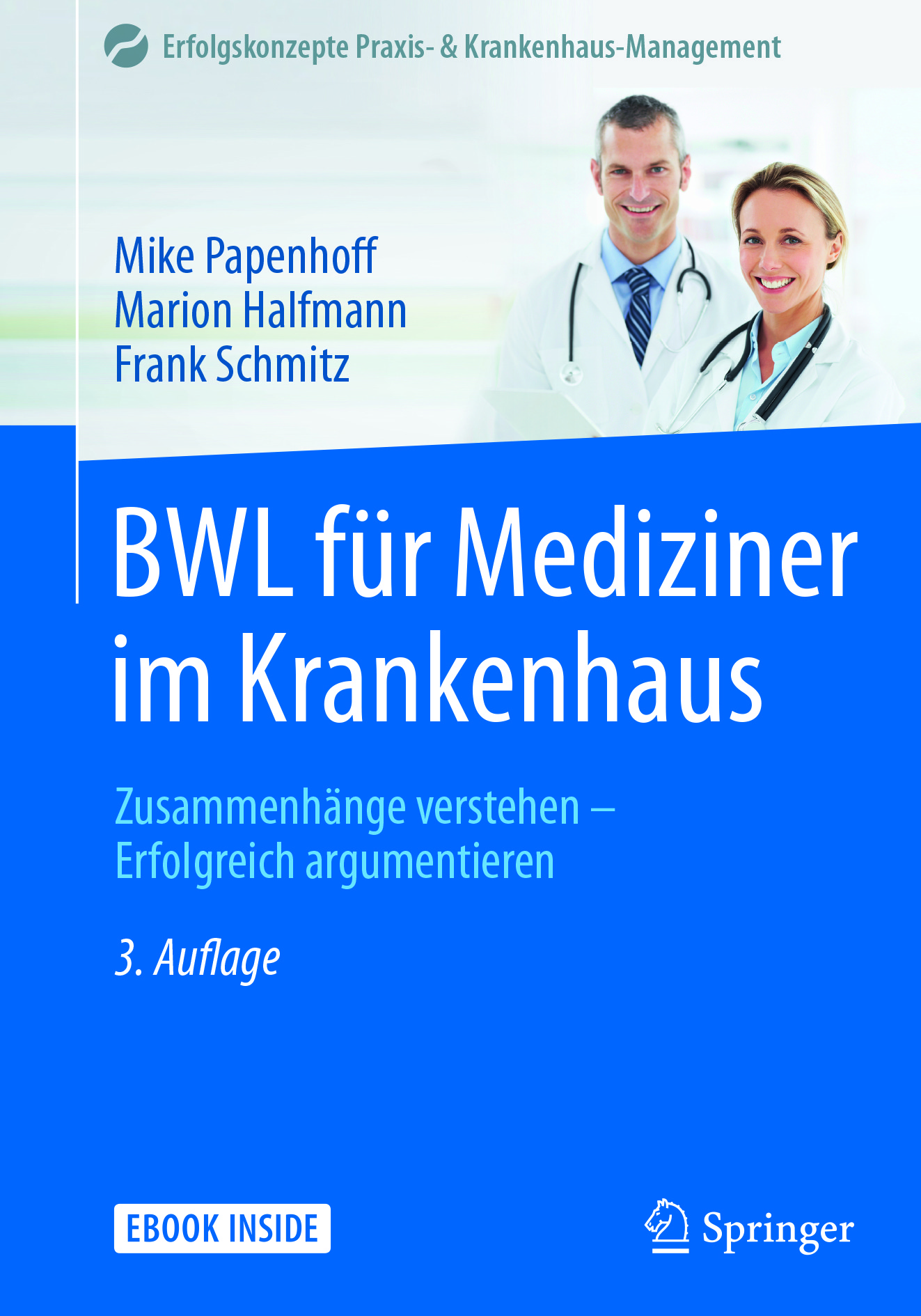 Halfmann, Marion - BWL für Mediziner im Krankenhaus, ebook