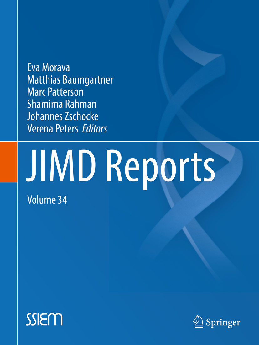 Baumgartner, Matthias - JIMD Reports, Volume 34, ebook
